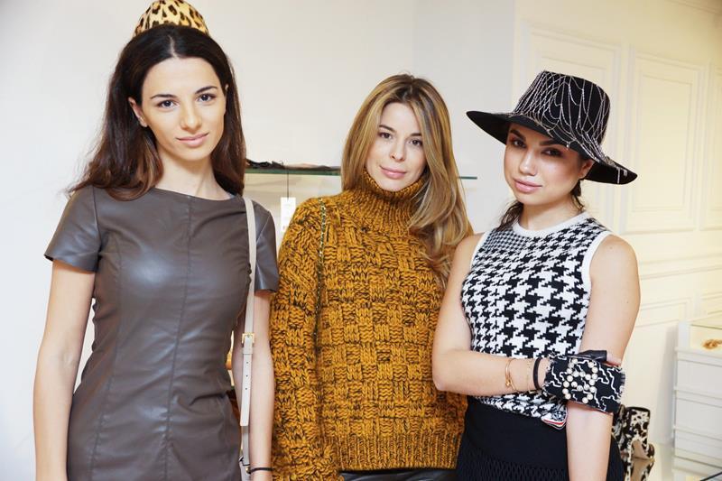 Лилита Межлумян, Лейла Давыдова и Анастасия Беляк