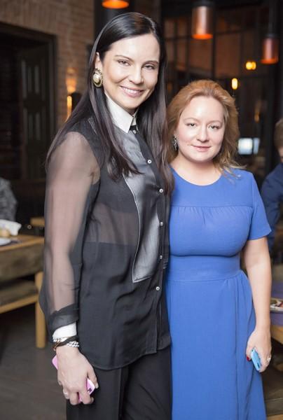 Лидия Александрова и Татьяна Сабуренкова
