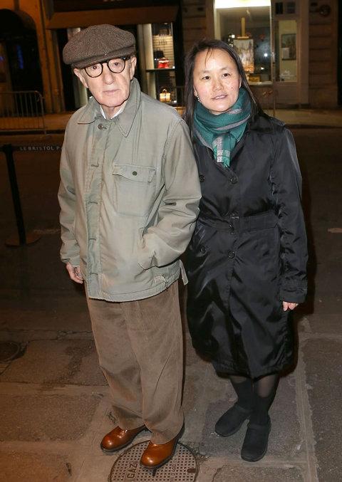 Вуди Аллен (79) и Сун-И Превин (41)