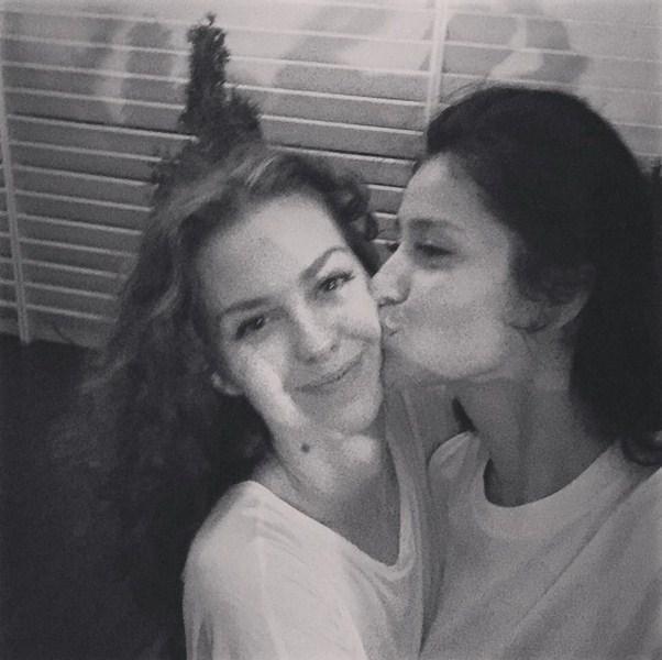 Лянка Грыу развлекалась с любимой подругой Равшаной в Сочи.