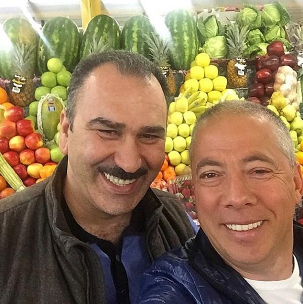 Аркадий Новиков закупался продуктами на Дорогомиловском рынке.