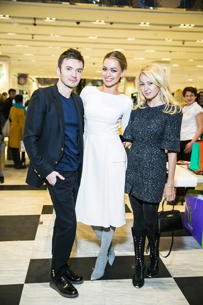 Евгений Заболоный, Анастасия Романцова и Яна Рудковская
