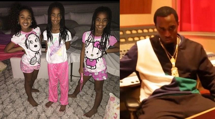 Пи Дидди (45) радовался пижамной вечеринке своих дочерей и записывал новые треки.