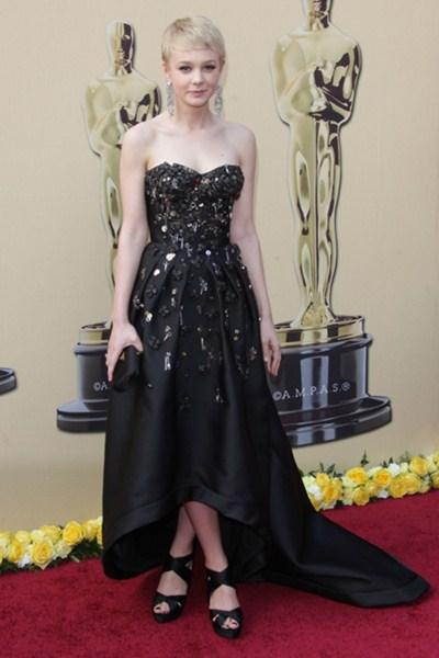 Актриса Кэри Маллиган (29)  в платье Prada. 2010 год.