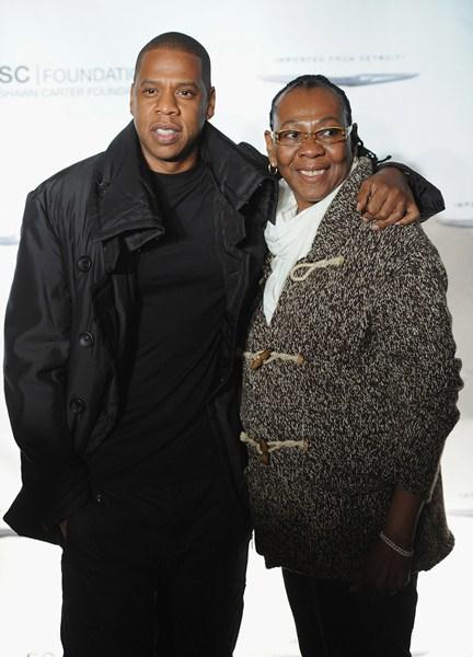 Рэпер Jay-Z (45) и Глория Картер