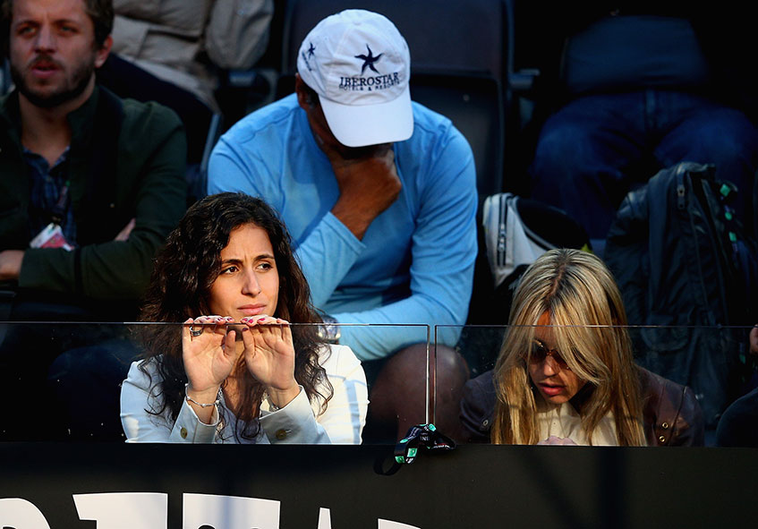 Сотрудница страховой комнании  Мария Франческа Перелло (26), девушка  Рафаэля Надаля (28), испанского теннисиста.