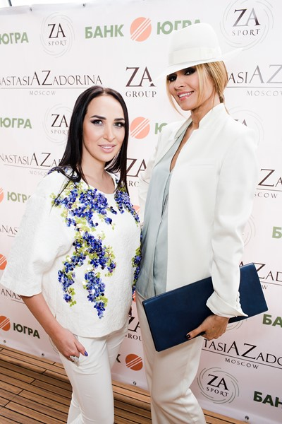 Анастасия Задорина и  Анжелика Агурбаш