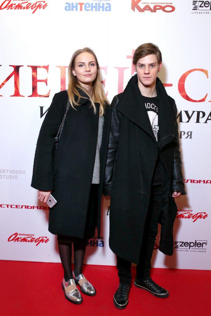 Мария Фомина и Павел Табаков