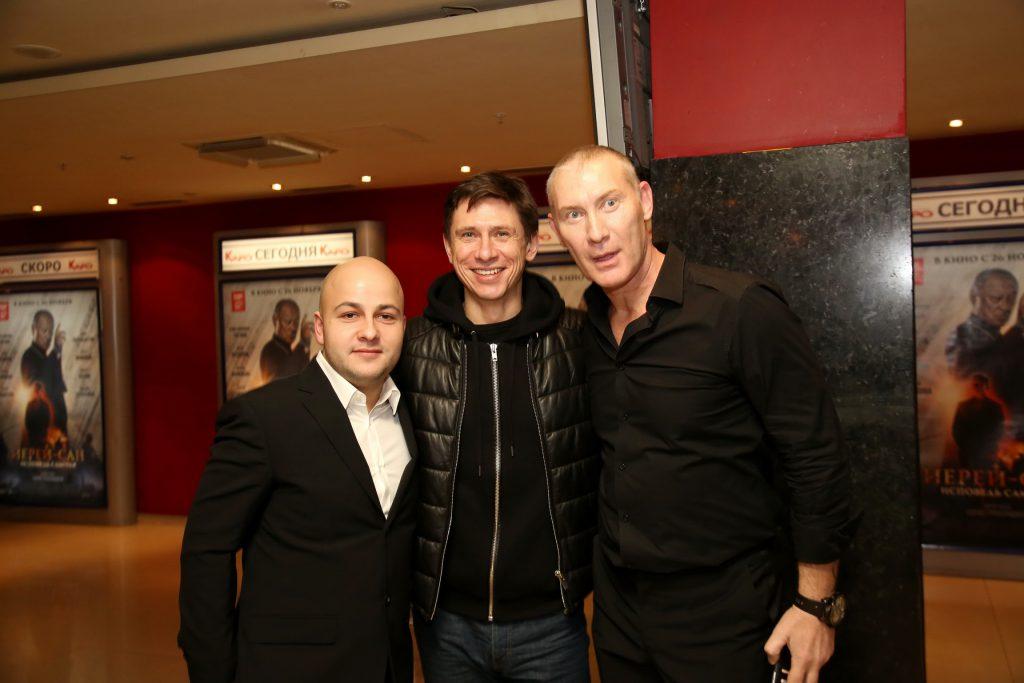Егор Баранов, Тимур Батрутдинов и Егор Жижикин