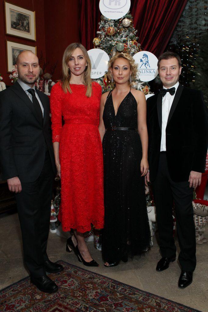 Борис Азаренко (Vesper), Светлана Бондарчук, Марина Руднева (Vesper) и Денис Китаев (Vesper)
