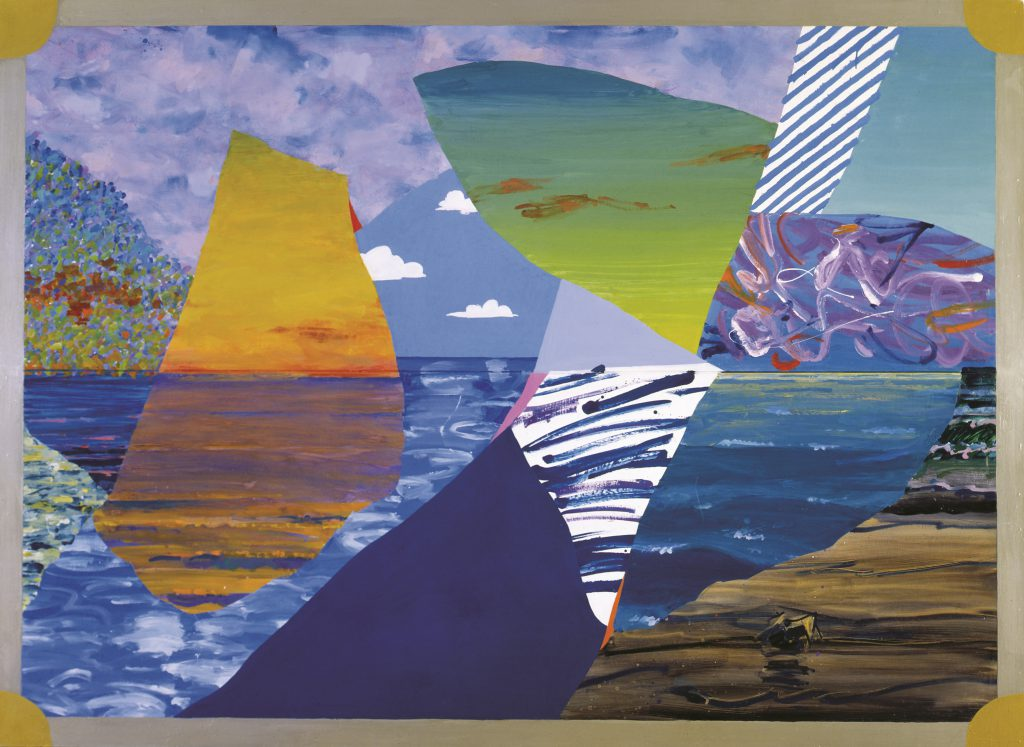 Иван ЧуйковРомантический пейзаж II, 1989оргалит, масло
