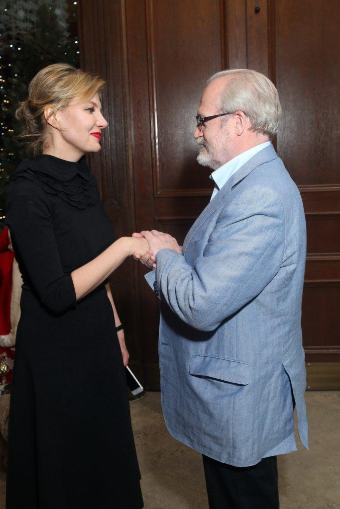 Рената Литвинова и Владимир Хотиненко