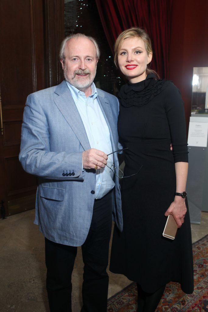 Владимир Хотиненко и Рената Литвинова