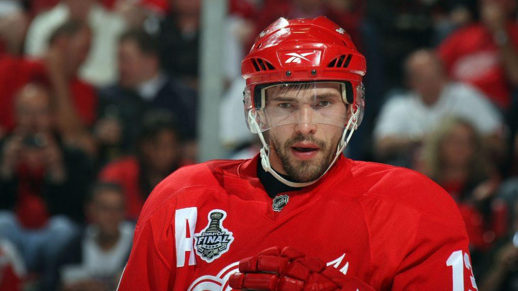 Павел Дацюк (37), Detroit Red Wings