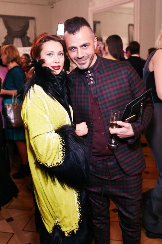 Елизавета Шарикова и Александр Сирадекиан