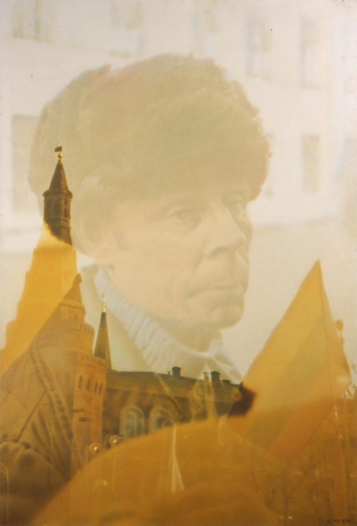 Семен ФайбисовичRussianCitizen, 1991холст, масло
