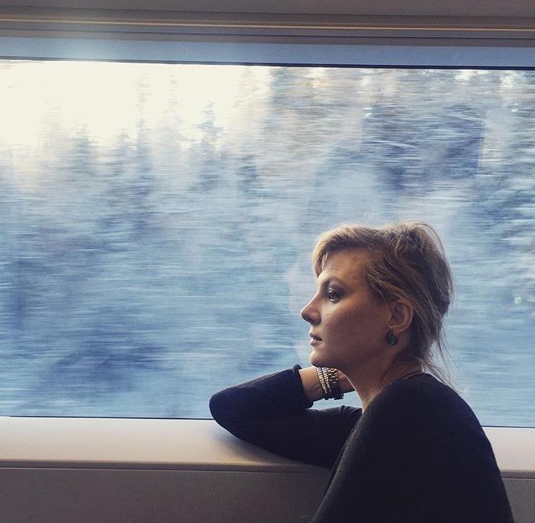 — После Нового года Рената Литвинова отправилась в свой любимый Санкт-Петербург.