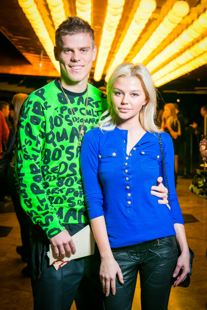 Александр Кокорин с Дарьей Валитовой
