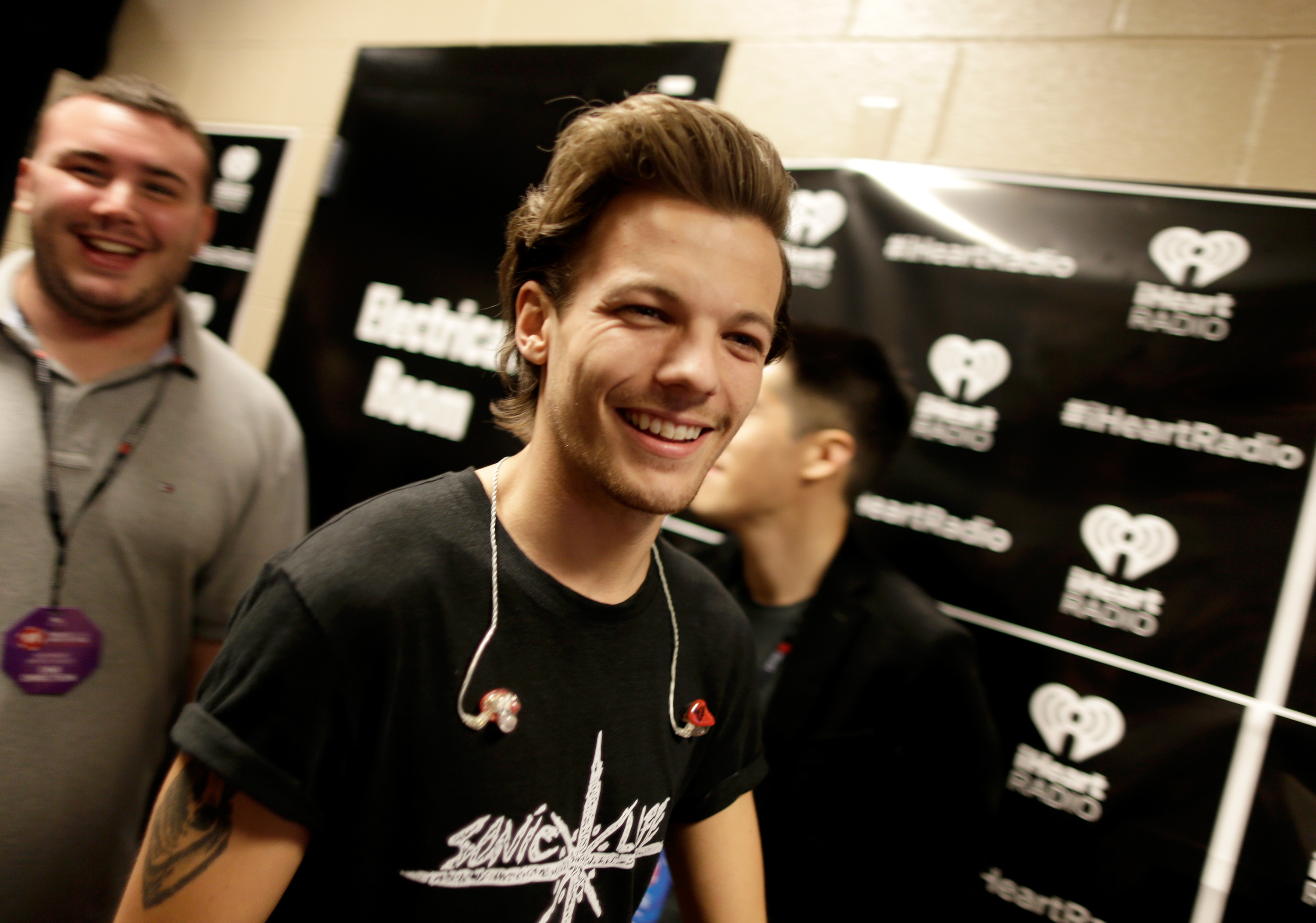 LAS VEGAS, NV - SEPTEMBER 20: Singer Louis Tomlinson of One Direction attends the 2014 iHeartRadio Music Festival at the MGM Grand Garden Arena on September 20, 2014 in Las Vegas, Nevada. (Photo by Isaac Brekken/Getty Images for iHeartMedia)