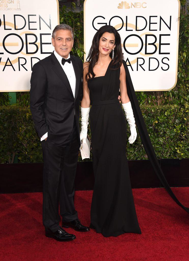 Джордж и Амаль Клуни (2015)