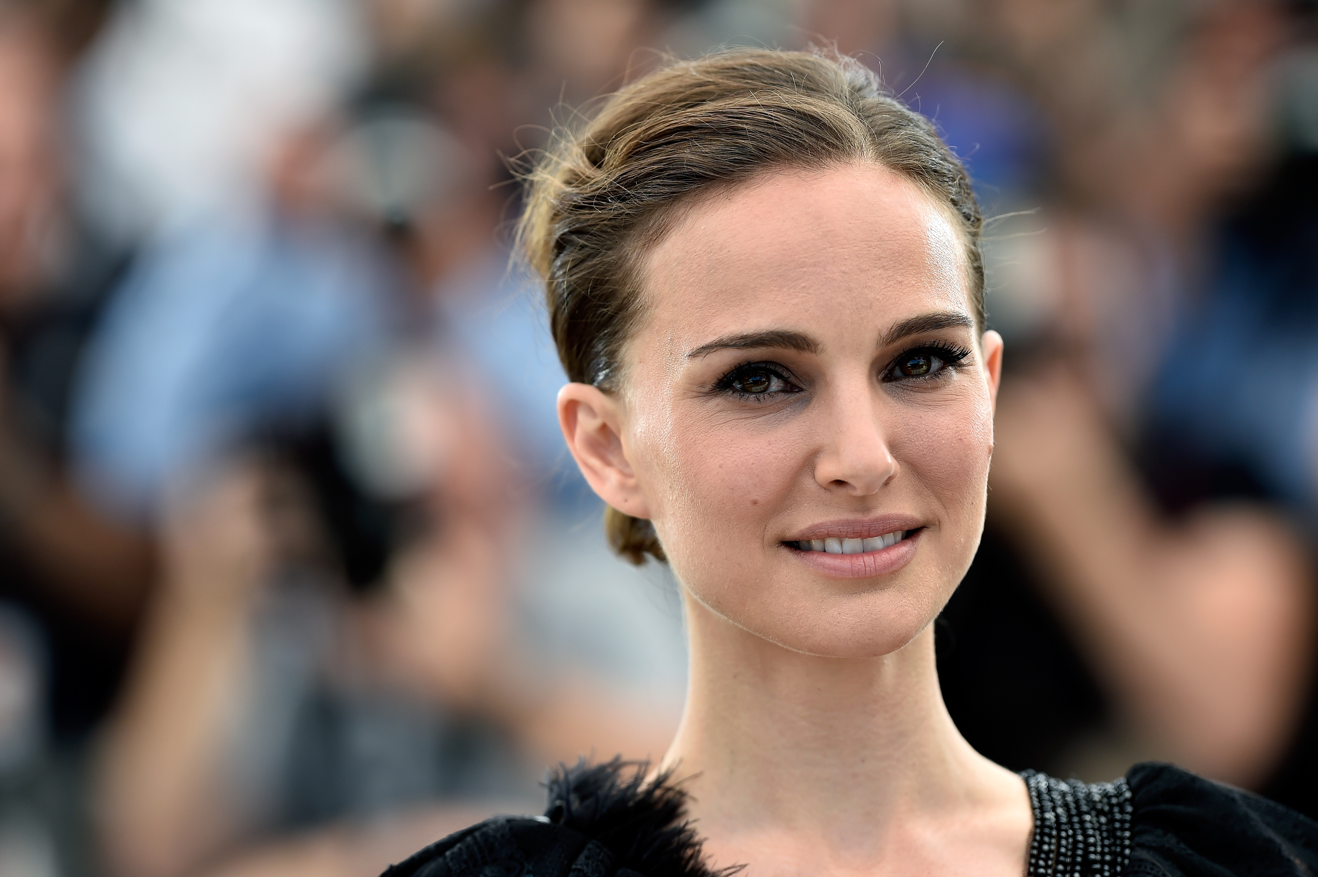 "CANNES, FRANCE - MAY 17:  Director Natalie Portman attends a photocall for ""A Tale Of Love And Darkness"" during the 68th annual Cannes Film Festival on May 17, 2015 in Cannes, France.  (Photo by Pascal Le Segretain/Getty Images,,)"