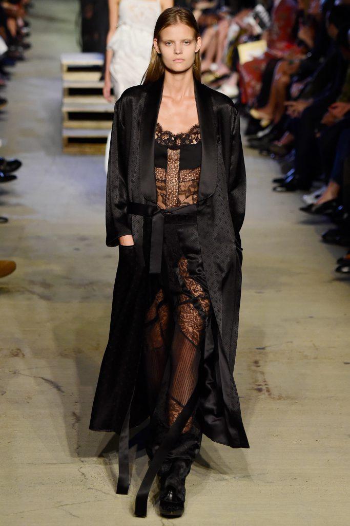 Катя Григорьева на показе Givenchy