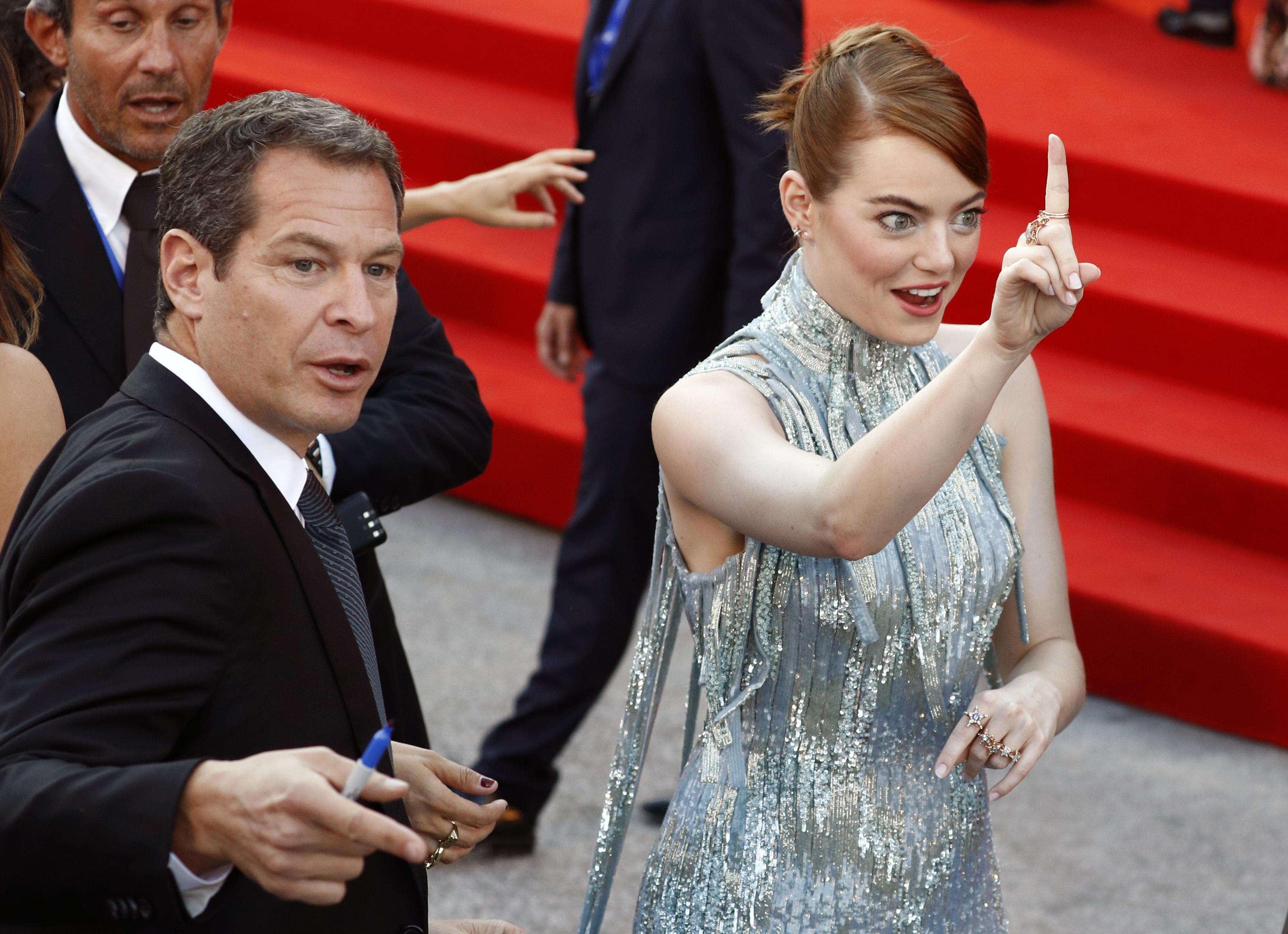 Эмма Стоун на открытии Венецианского кинофестиваля