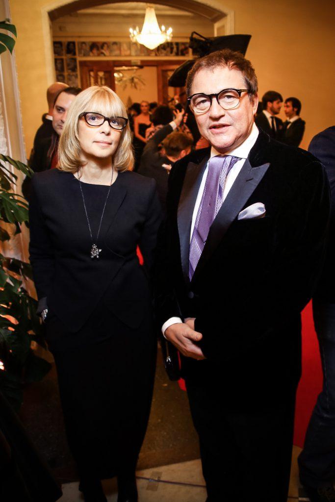 Вера Глаголева и Дмитрий Дибров