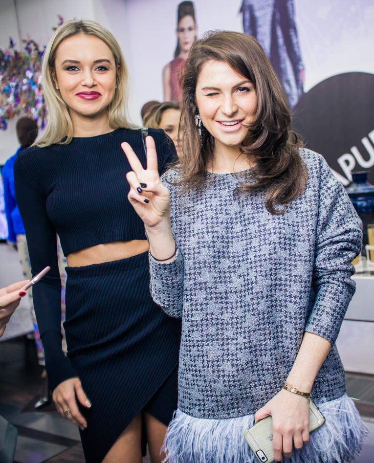 Ксения Сухинова и Лаура Джугелия