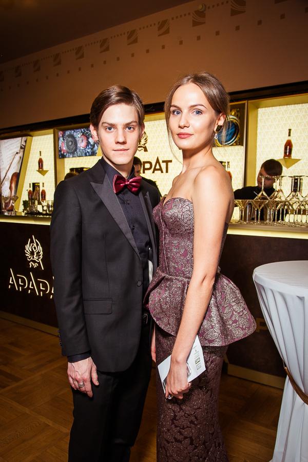 Павел Табаков и Елизавета Костюкова
