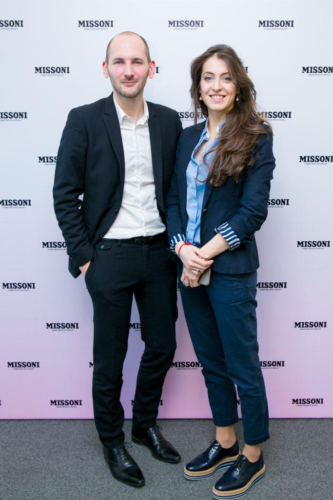 Квентин Буш и Анастасия Меськова