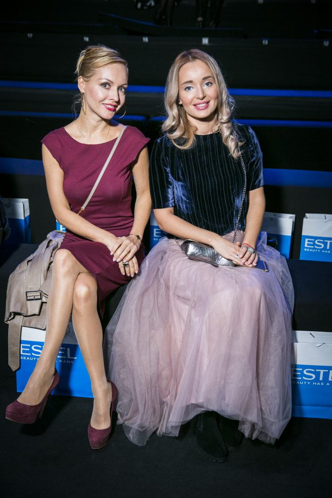 Ирина Сашина и Полина Полякова