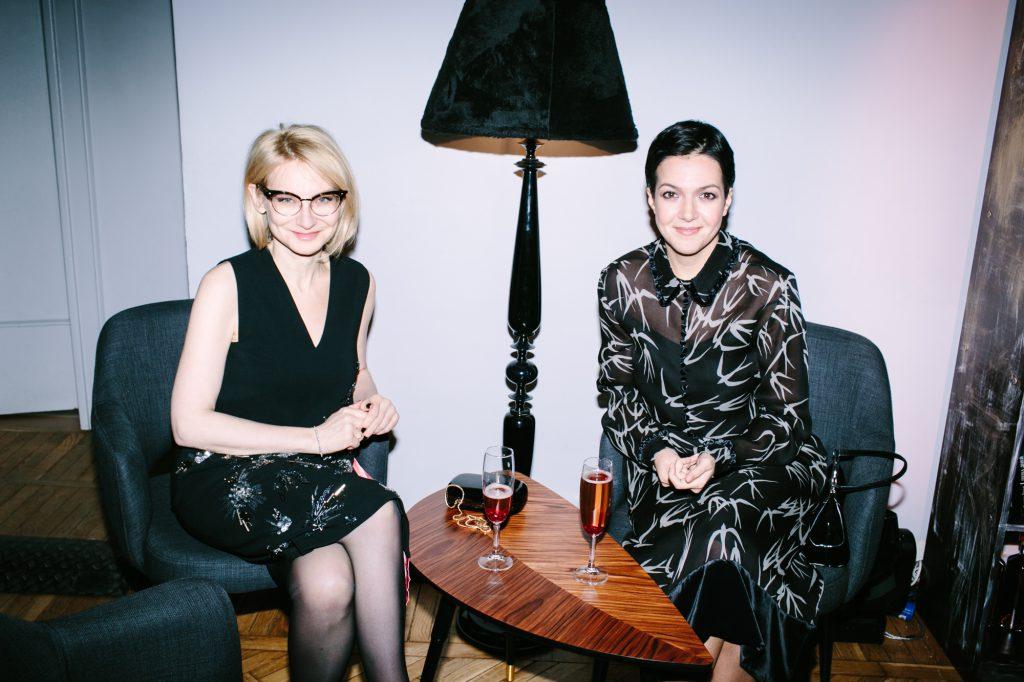 Эвелина Хромченко и Ксения Чилингарова