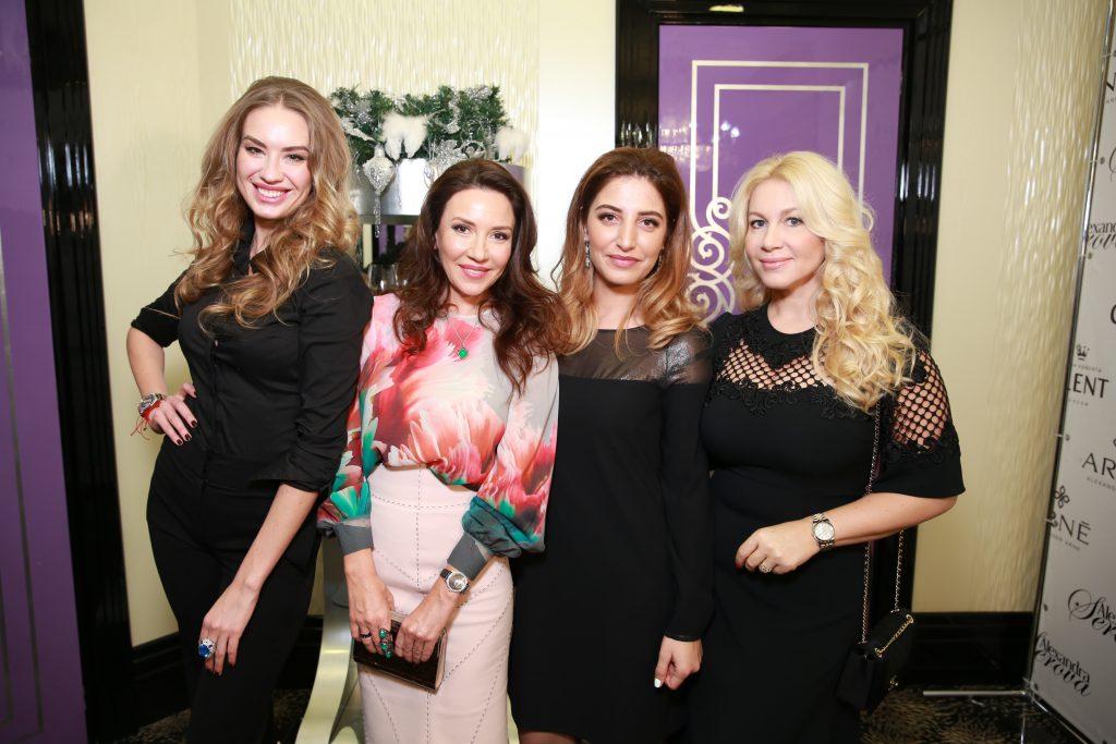Александра Серова, Ирина Чайковская, Кристина Муртузалиева, Екатерина Одинцова