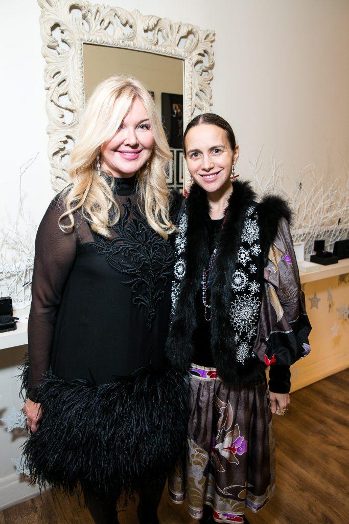 Юлия Янина и Ольга Томпсон