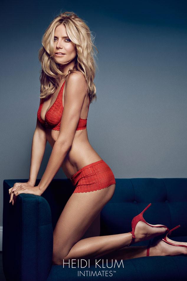 Хайди Клум (42) в рекламной кампании собственного бренда нижнего белья Heidi Klum Intimates