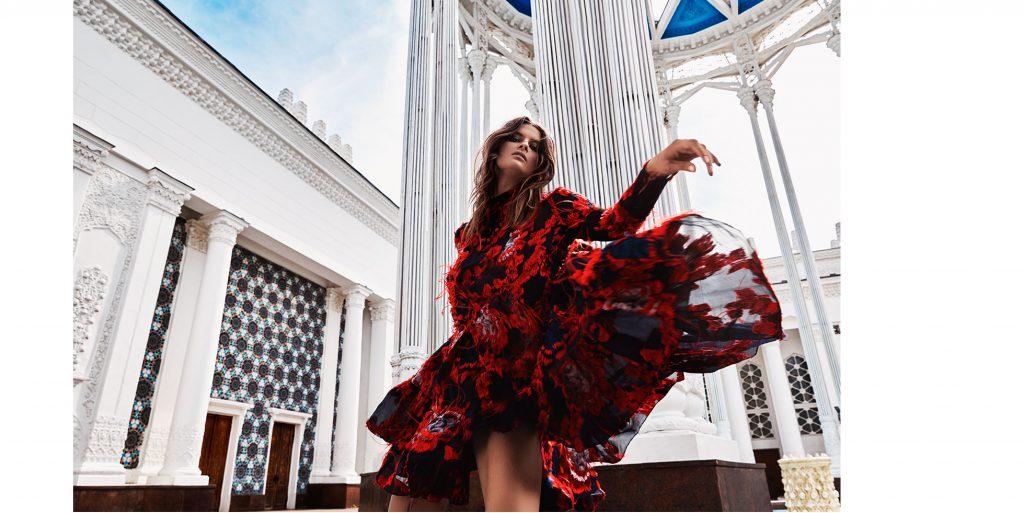 LOOK 7 – платье ERDEM