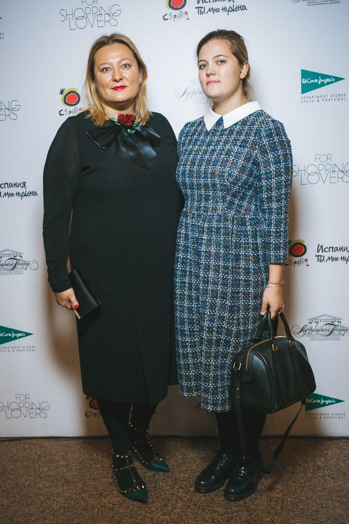Мария Фёдорова с дочерь Вероникой