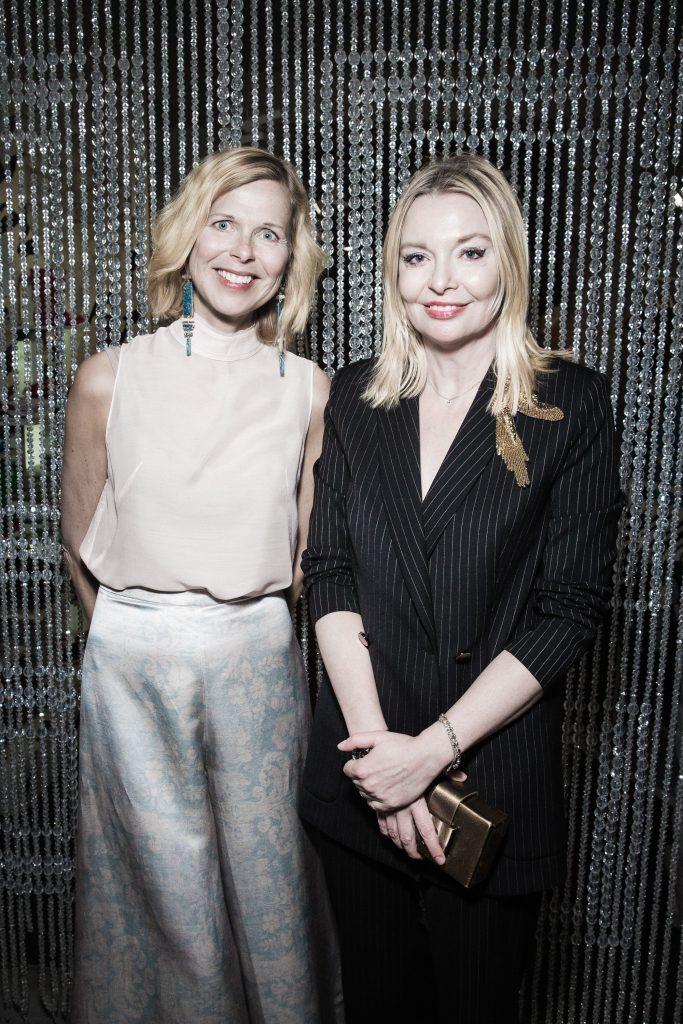 Катарина Мидби и Виктория Давыдова