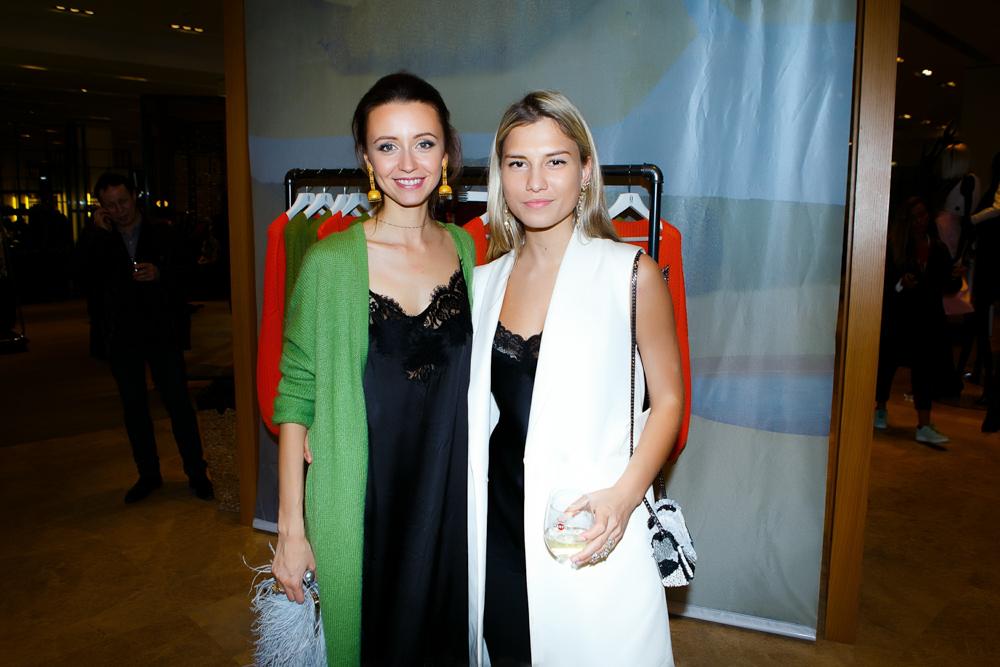 Наталья Османн и Даша Костромитина
