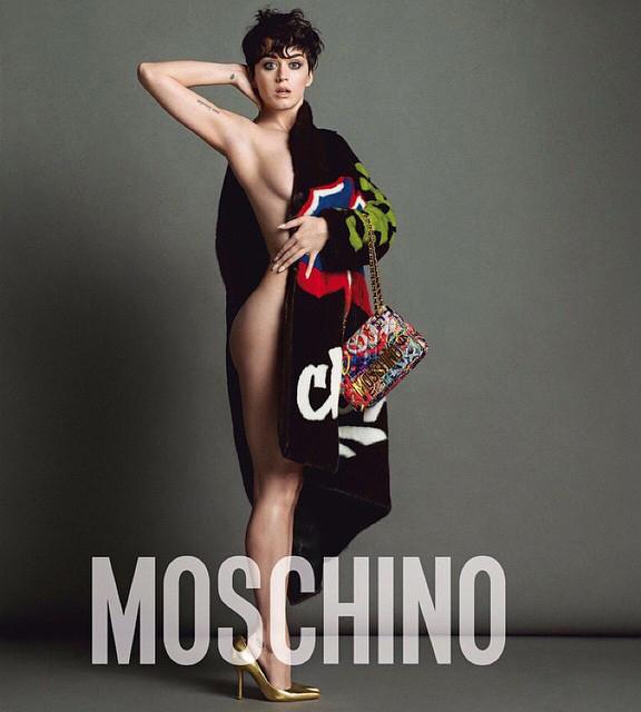 Кэти Перри (31) для Moschino