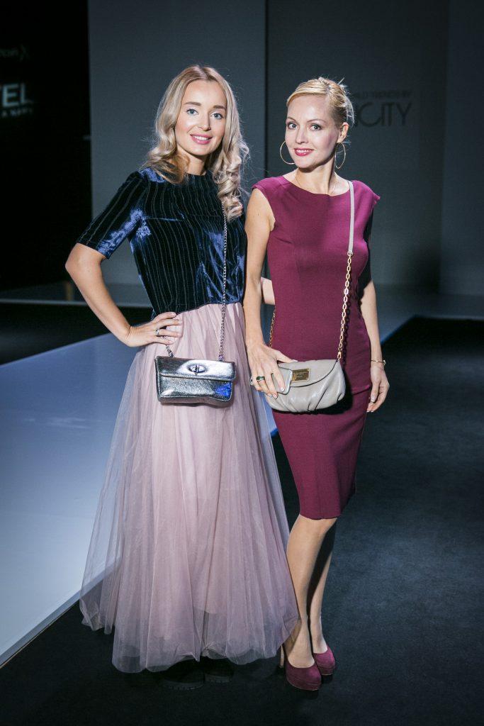 Полина Полякова и Ирина Сашина