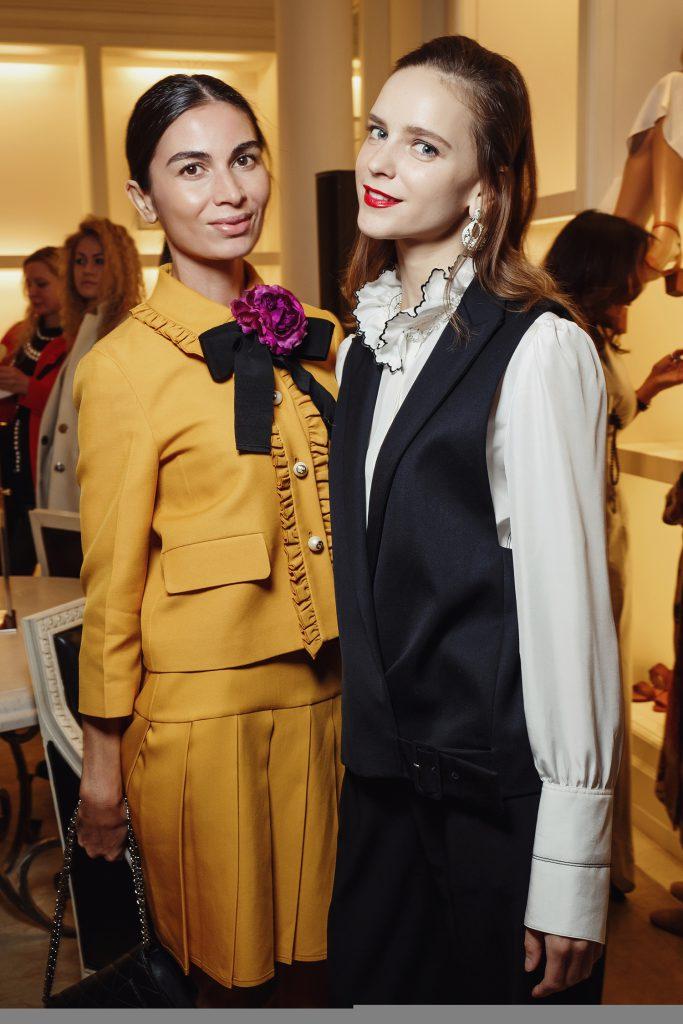 Оксана Пономарева и Ксения Князева