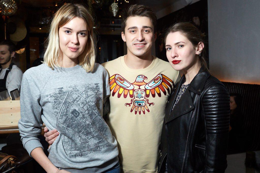 Евгения Шевчук, Артем Королев и Алина Григалашвили