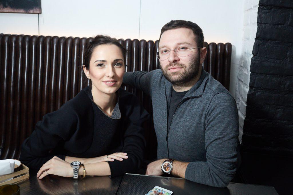 Ирэна Кварацхелия и Алхас Джугелия