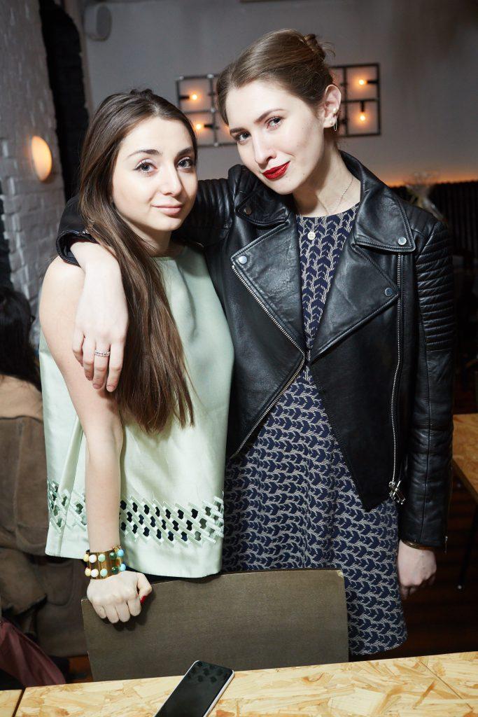 Наталья Осипова и Алина Григалашвили