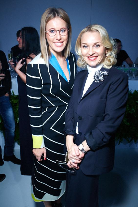 Ксения Собчак и Екатерина Моисеева