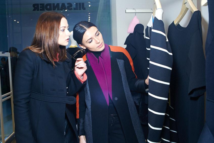 Ингрид Олеринская и Кристина Шаповалова