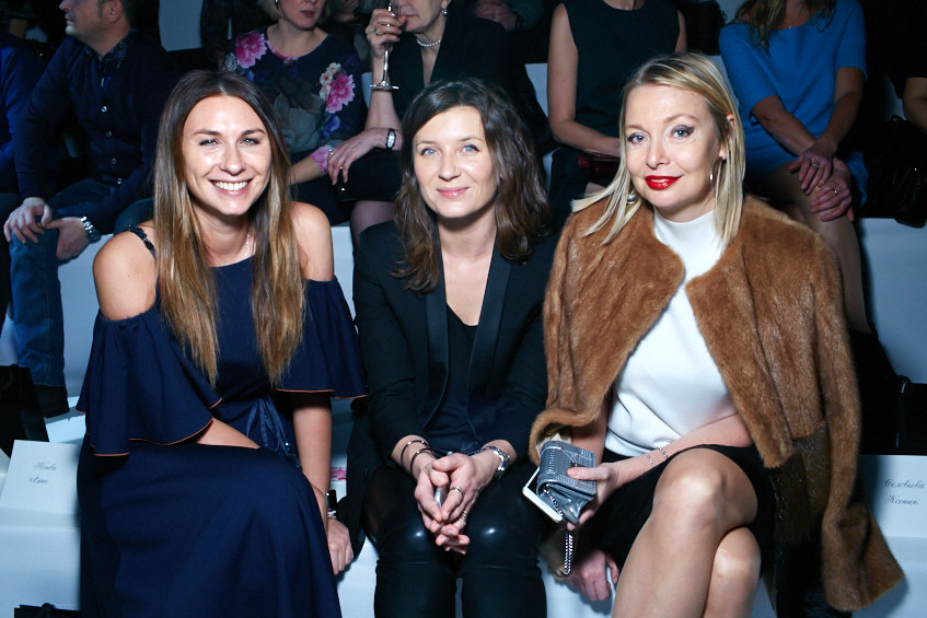 Даша Веледеева, Анита Гиговская и Виктория Давыдова