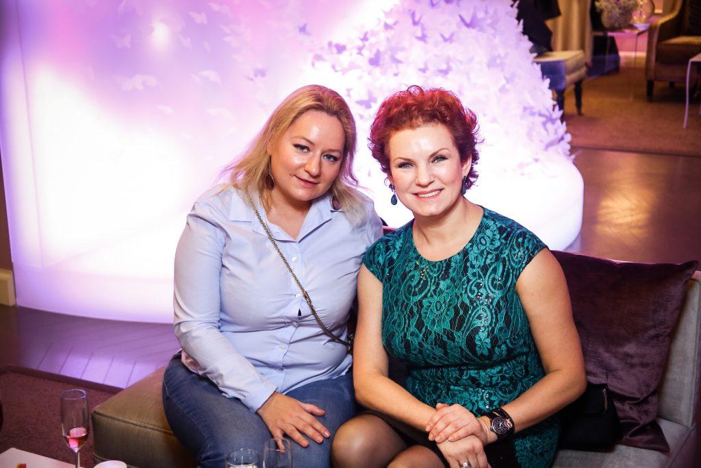 Татьяна Сабуренкова и Анна Липявко
